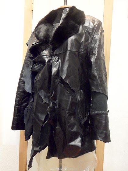 ремонт кожаной курточки