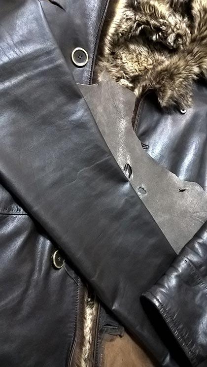 підбір шкіри за кольором фактурі товщині