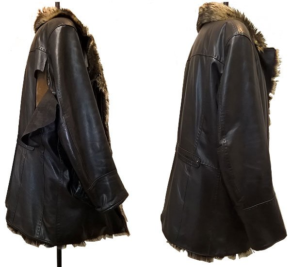 ремонт кожаной куртки
